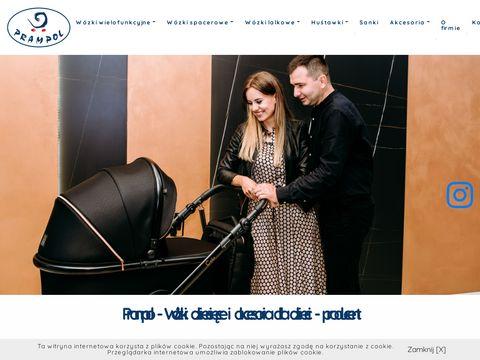 Prampol wózki spacerowe producent