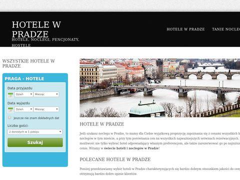 Praga - hotele i noclegi