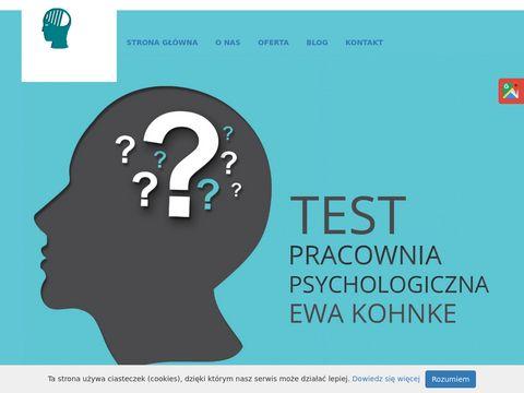 Pracowniapsychologicznapuck.pl Test