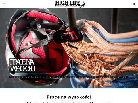 Pracawchmurach.pl prace wysokościowe