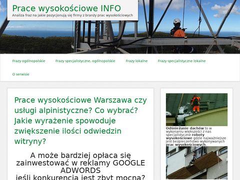 Pracewysokosciowe.info