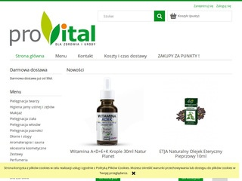 Provitalsklep.pl kosmetyki ekologiczne
