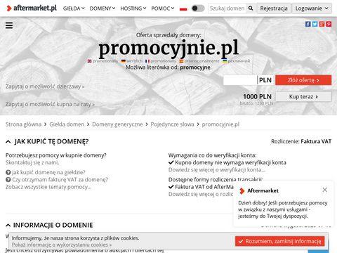 Promocyjnie.pl - aplikacja z promocjami