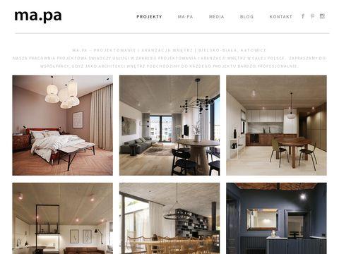 Projectbymapa.pl - projektowanie wnętrz Katowice