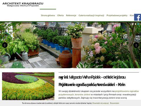 Projektowanieogrodow.net terenów zieleni
