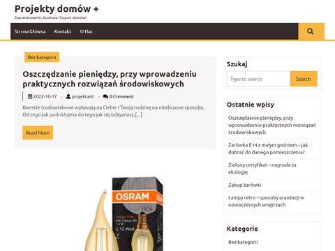 Najlepsze gotowe projekty ProjektyDomowPlus.pl