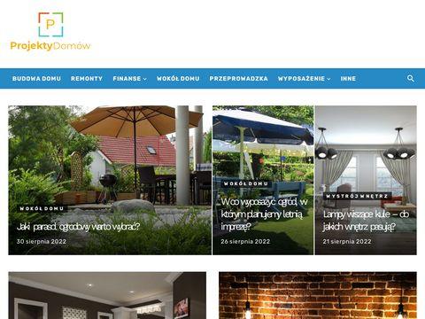 Projektydomow1.pl - systemy sprzedażowe