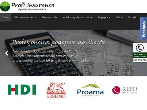 Profi-insurance.com.pl ubezpieczenia Kraków