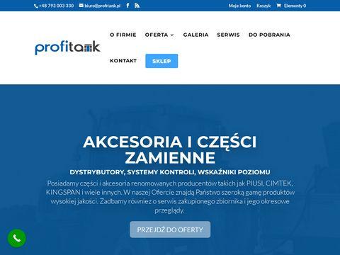 Profitank.pl zbiorniki na paliwo dwupłaszczowe