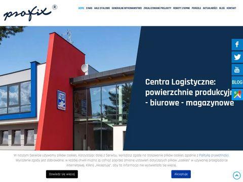 Profix realizacja hal stalowych Kraków