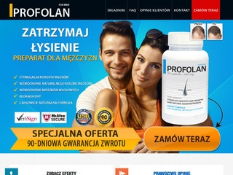 Profolan.pl - tabletki na wzmocnienie włosów