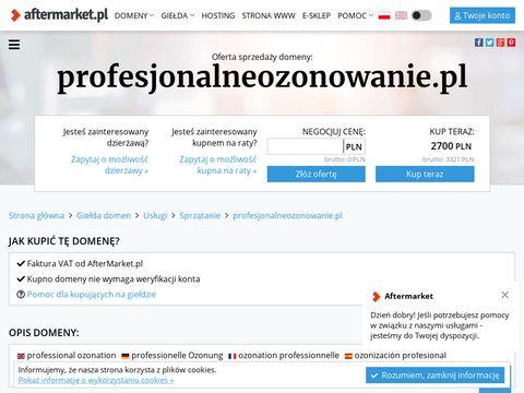 Profesjonalneozonowanie.pl