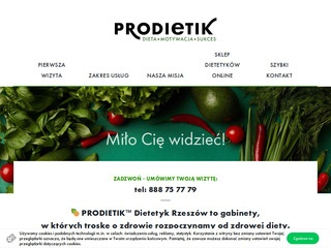 Prodietik.pl najlepszy dietetyk Rzeszów