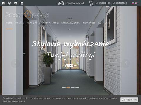 Prodanproject.com wewnętrznedrzwi przesuwne
