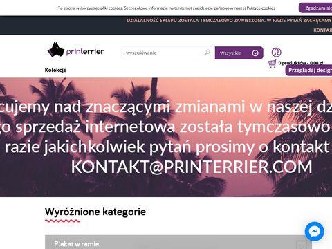 Printerrier.com - wyjątkowy wystrój wnętrz