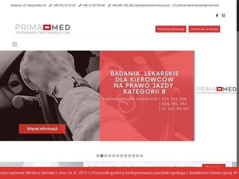 Prima-med.info centrum medyczne Kraków