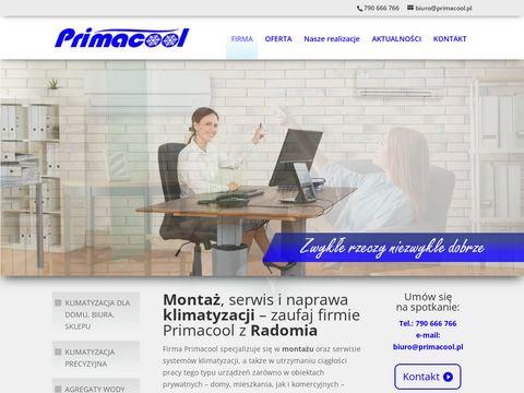 Primacool.pl klimatyzacja do domu