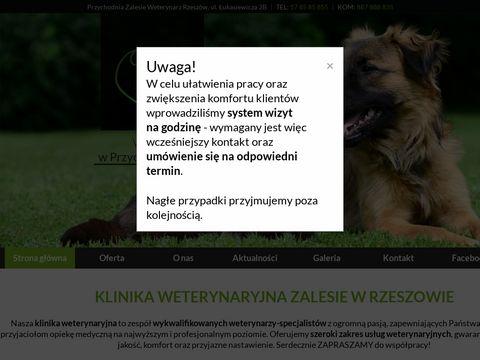 Przychodniazalesie.pl - weterynarz Rzeszów