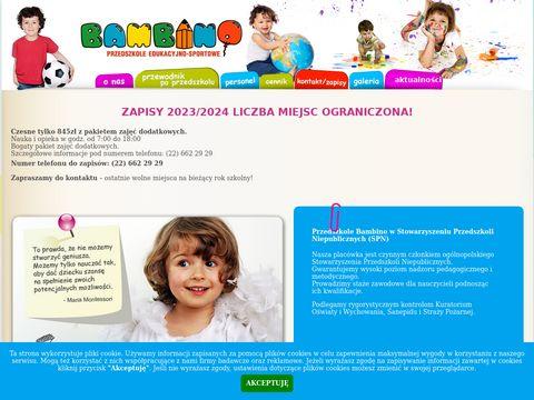 Bambino Przedszkole Edukacyjno-Sportowe