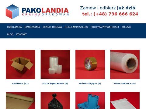Przeprowadzkisklep.pl folia bąbelkowa Warszawa