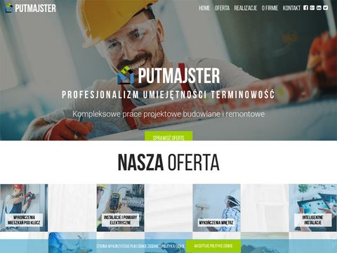 Putmajster.pl firma remontowo budowlana