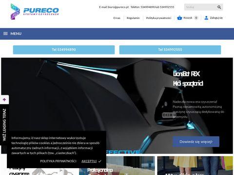 Pureco.pl - maszyna do mycia podłóg