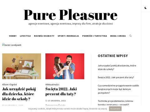 Pure-pleasure.pl imprezy firmowe Łódź