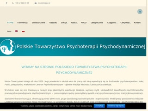 Ptppd.pl organizacja psychoterapi