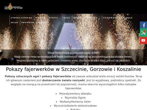 S-piro.pl pokazy konfetti na wesele Koszalin