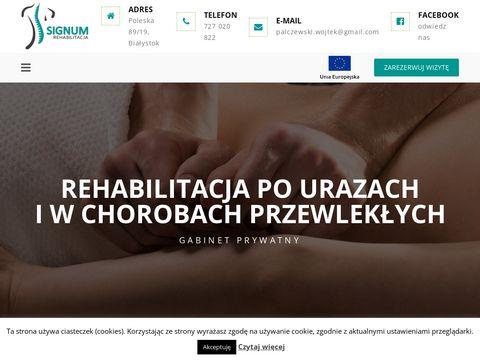 Signum-bialystok.pl fizjoterapia