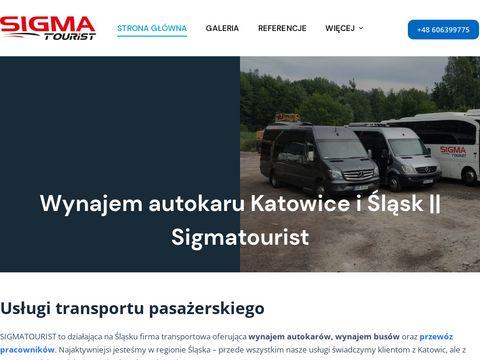 Sigmatourist.pl - przewóz osób śląsk