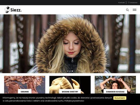 Siezz.pl modna odzież męska