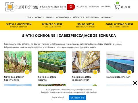 Siatkiochronne.eu - do zabezpieczenia