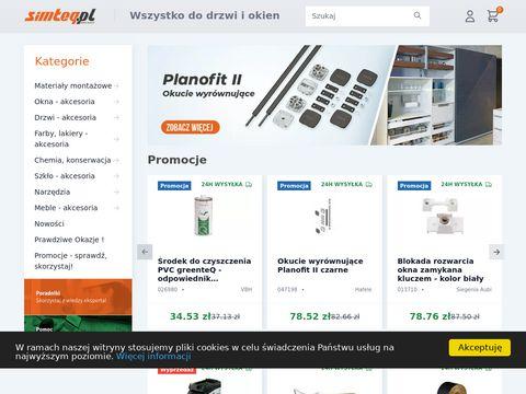 Simteq.pl materiały montażowe do drzwi