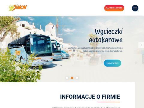 Simon.travel.pl wynajem autokarów