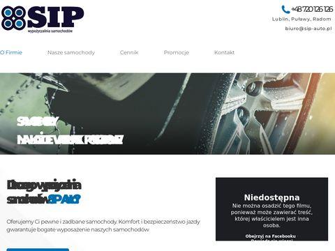 Sip-auto.pl - wypożyczalnia samochodów Lublin