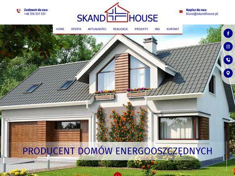 Skandhouse.pl domy z prefabrykatów drewnianych