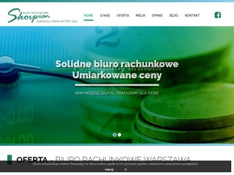 Skorpion2000.pl biuro księgowe Warszawa Targówek