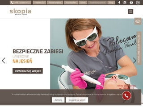Skopia-ec.pl klinika medycyny estetycznej Kraków