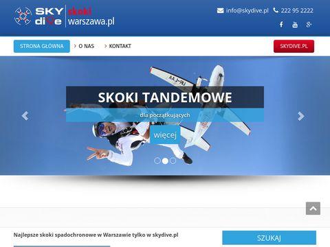 Skokiwarszawa.pl spadochronowe