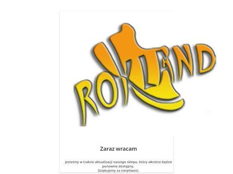 Sklep.rokland.pl odzież sportowa 4F, obuwie