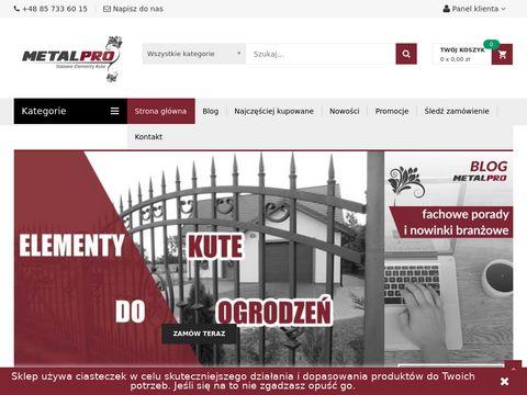 Sklep.metalpro.pl - Zawiasy regulowane