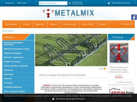 Sklep.metalmix.info producent stojaków na rower