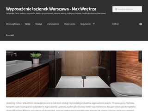 Sklep.maxwnetrza.pl meble łazienkowe i kuchenne