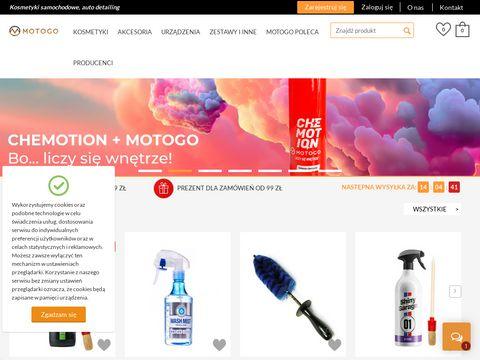 Sklep.motogo.pl - kosmetyki samochodowe
