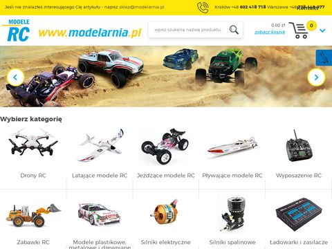 Sklep.modelarnia.pl samochód zdalnie sterowany