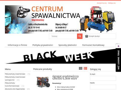 Sklep.centrumspawalnictwa.eu Lublin Biłgoraj