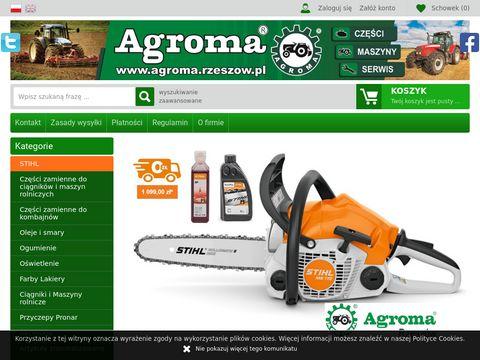 Sklep.agroma.rzeszow.pl sprzedaż części zamiennych