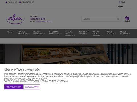 Sklep.abm.com.pl meble sklepowe