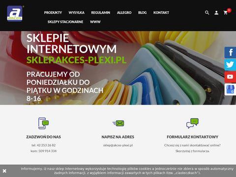 Akces profil aluminiowy sklep internetowy